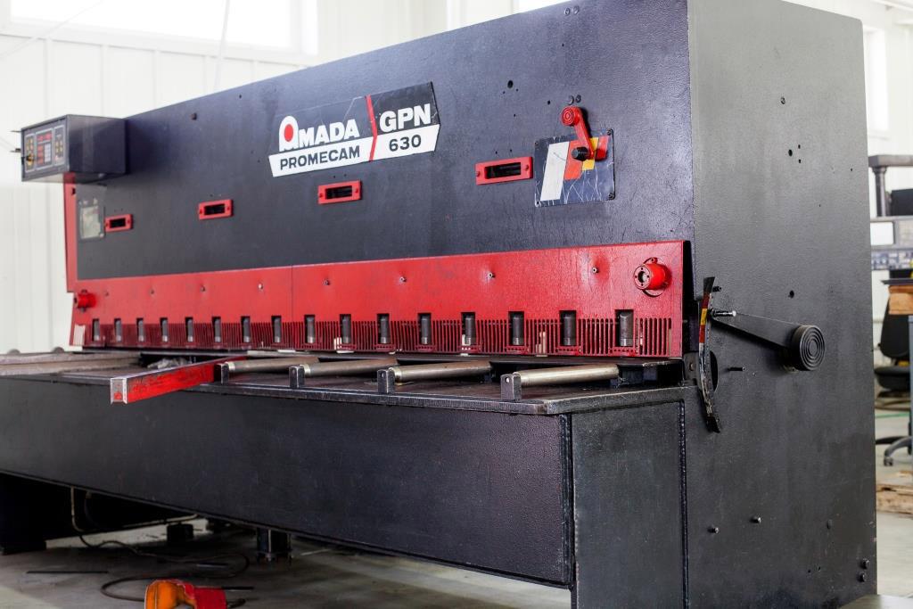 Металообробний верстат фірми Amada